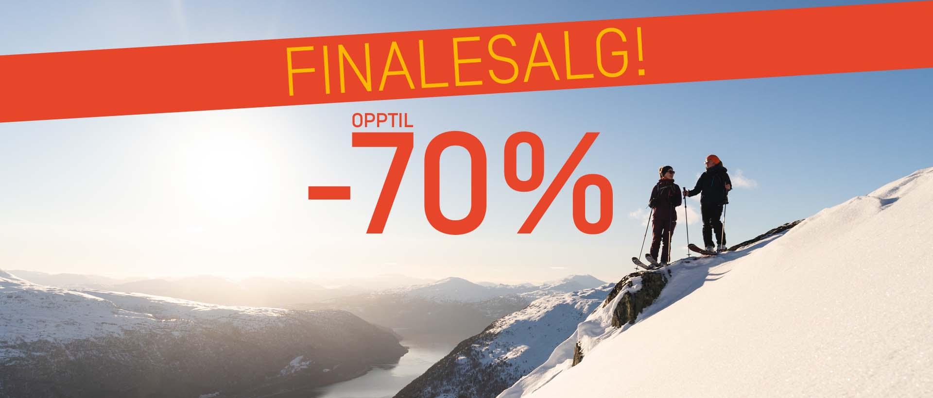 FINALESALG - OPPTIL -70%
